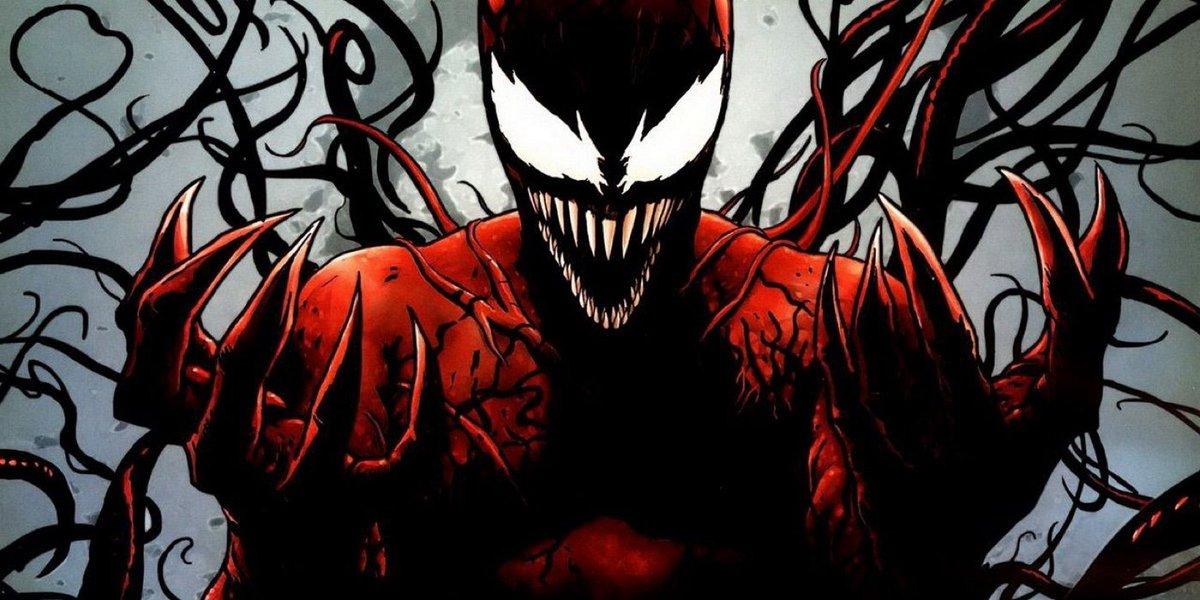 Carnage expected to appear in VENOM film starring Tom Hardy  https://t.co/c3ui1WU9Xj #Venom #SpiderMan