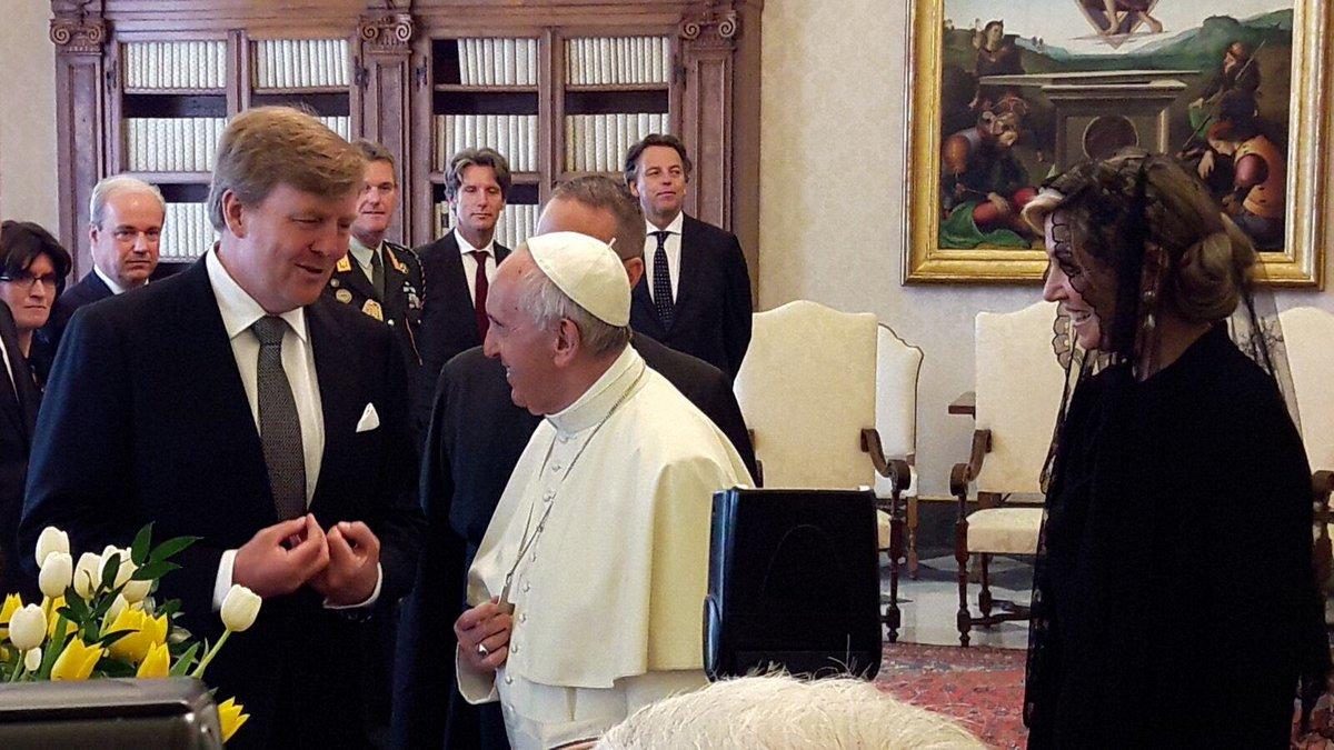 Официальный визит королевской четы Нидерландов в Италию, день 3