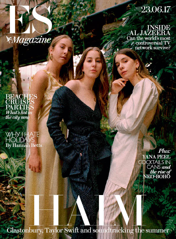 .@HAIMtheband are back with an album that's destined to be the sound of the summer.  Pick yours up later London. #HAIM X #ESmagazine<br>http://pic.twitter.com/Y9Pt0nUZX6
