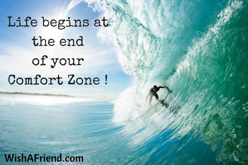 Life begins at the end of your Comfort Zone !  #lifequotes #inspiratio...