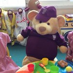 Out and about with #TeddyMinster. He went to say Hello at the school nursery yesterday. Where is he today? https://t.co/BSL7iDDKka