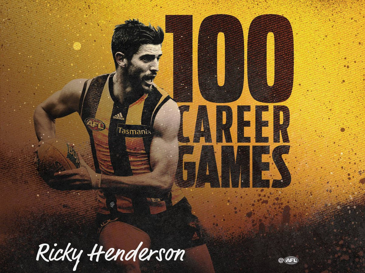 Congratulations to Ricky Henderson who plays game 100 tonight against...