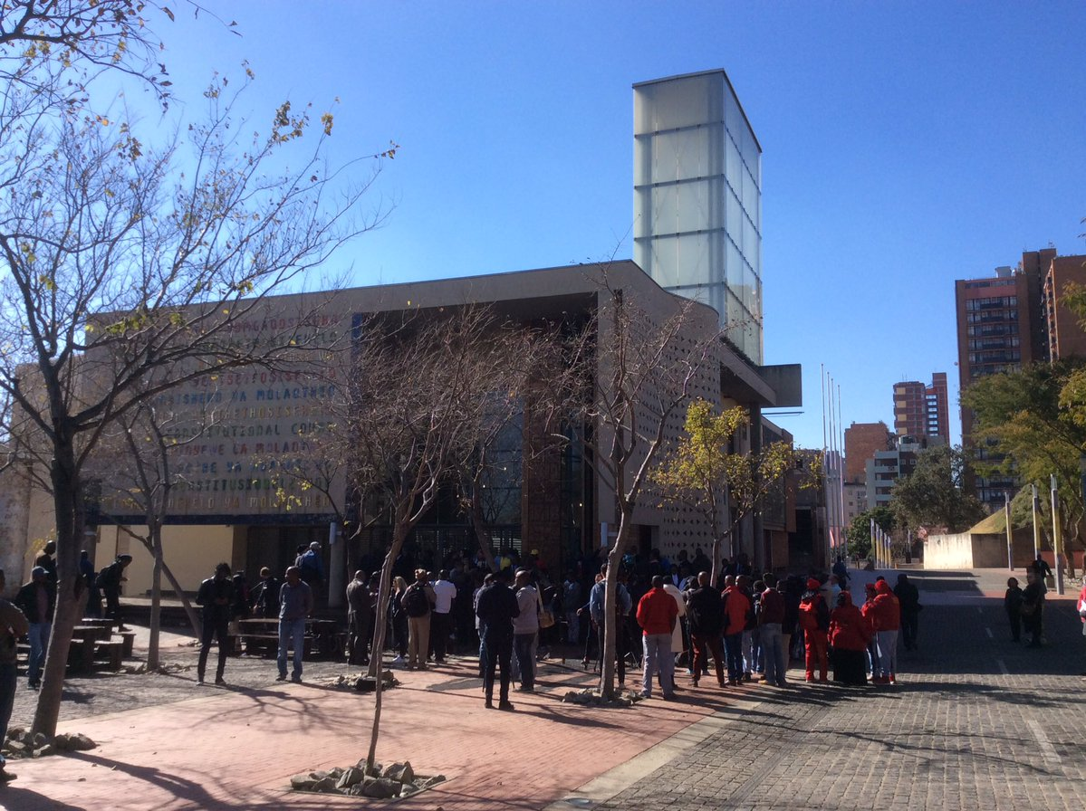 A Big Day at #ConCourt #SecretBallot #aw <br>http://pic.twitter.com/m2vgCfE5Rh