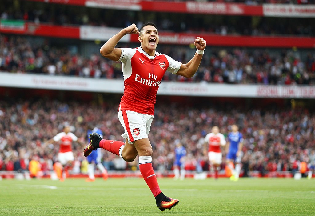 Shkodran Mustafi on Alexis Sanchez: 'He can play in any team, even for Bayern. I hope he stays though. It would be a pity to lose him.'