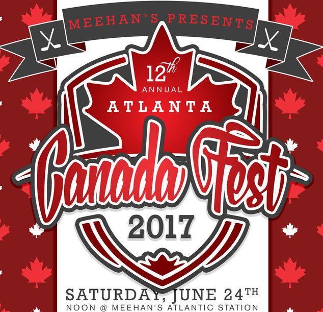 What cool idea, eh?! Check out #AtlantaCanadaFest @AtlanticStation THIS Saturday w/ street hockey + music. @MeehansPubHouse #AtlantaAlive <br>http://pic.twitter.com/vojdgipp8K
