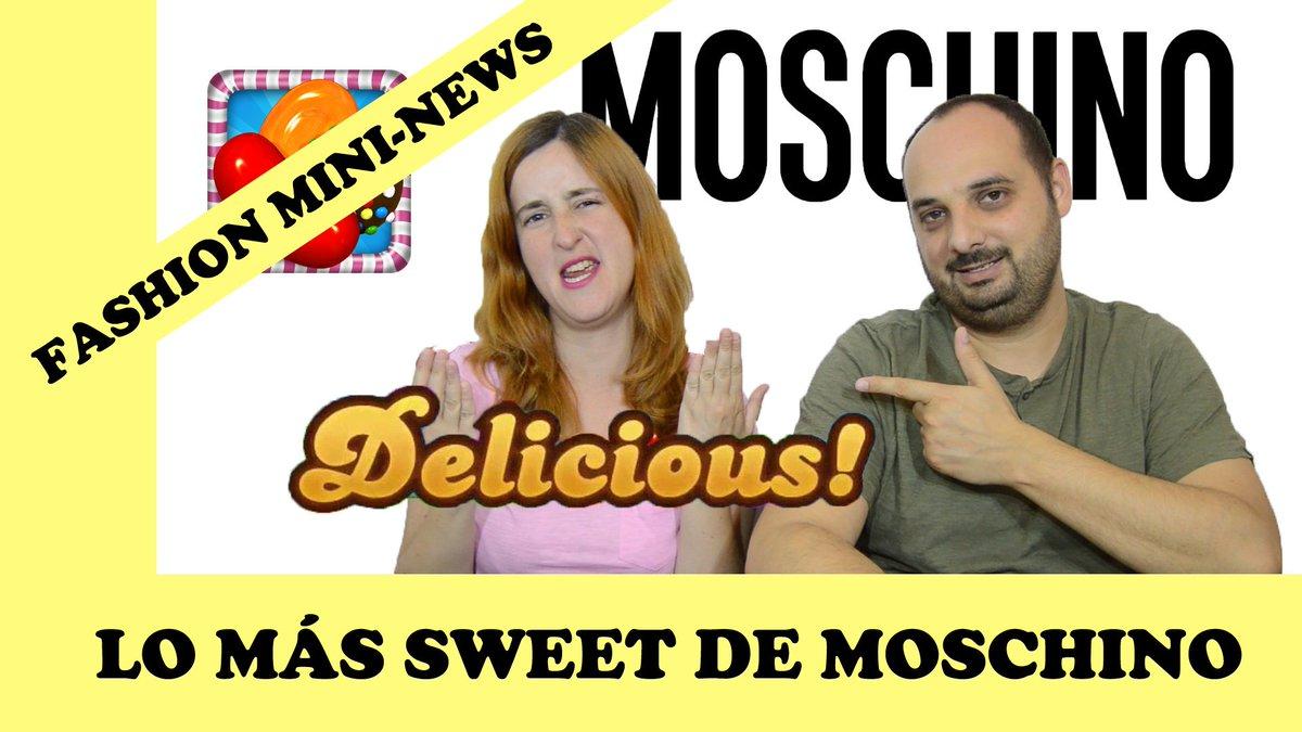 Lo mas sweet de #moshino  https:// youtu.be/zlvSAzVzWXU  &nbsp;   #moshino #coachella #candycrash #moda<br>http://pic.twitter.com/E3gwWhdwd7