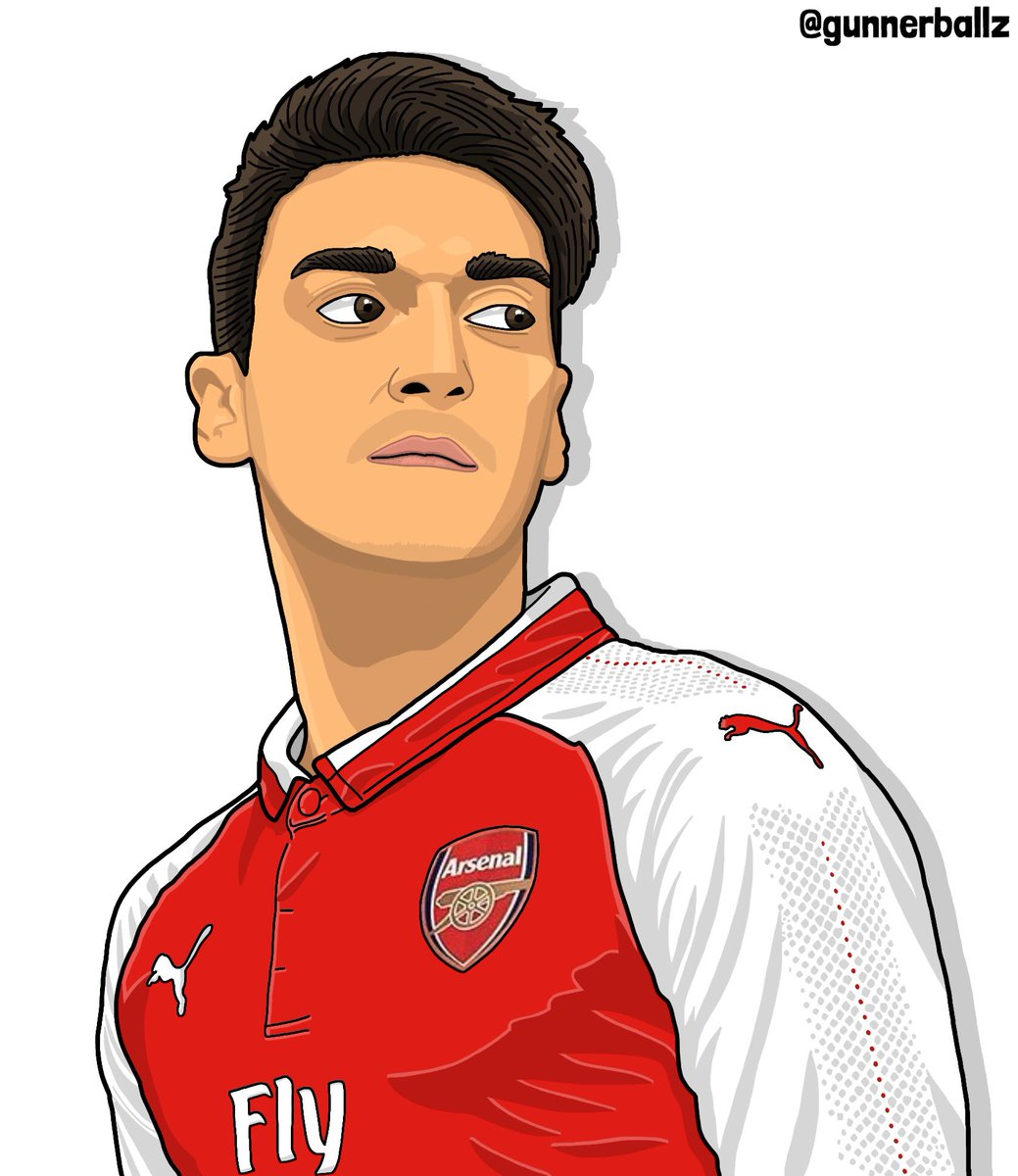When your modelling the new Arsenal kit but you see someone making a run.  #MesutOzil #ozil #arsenal #afc #ozil11 #puma #coyg<br>http://pic.twitter.com/kIyJgVw7hf
