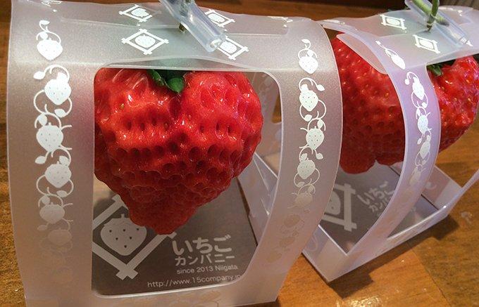 1個1,000円のいちごカンパニーの「とろける香りいちご」 ⇒https://t.co/Vak2oYbw31 大きくなっても、甘さ、ジューシーさ、香りが格変わらない!