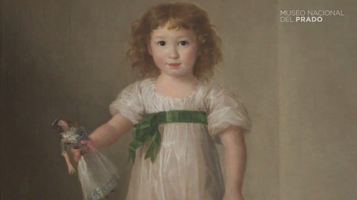 Exposición 'El desafío del blanco. #Goya y #Esteve, retratistas de la...