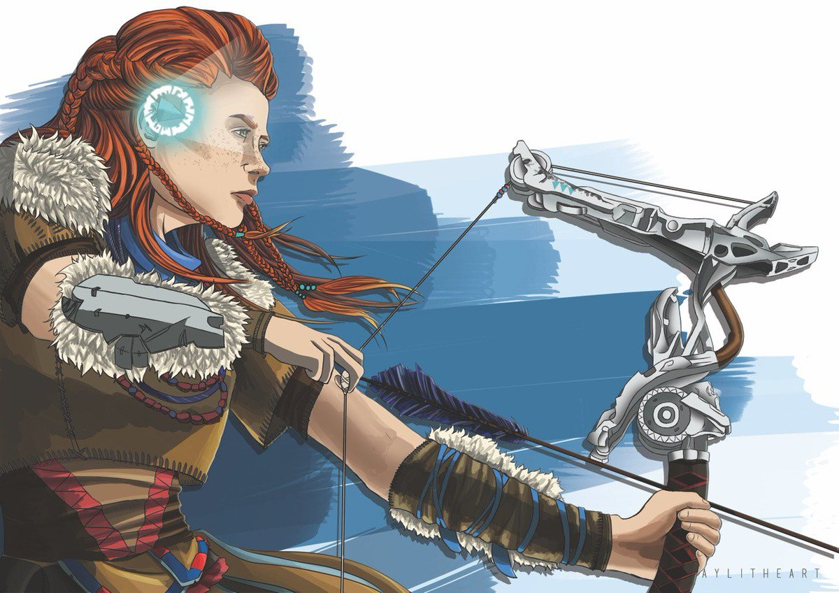 Aloy  by aylitheart on Tumblr  http:// aylitheart.tumblr.com/post/161987586 508/and-my-final-a3-print-from-supanova-i-have-22-of &nbsp; …  #FanArtFriday <br>http://pic.twitter.com/iyYCxxgjTs