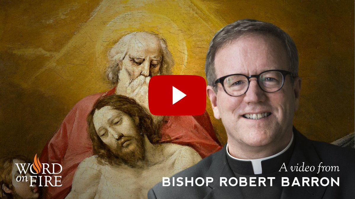 New YouTube video >> 'Bishop Barron on the Meaning of the Trinit...