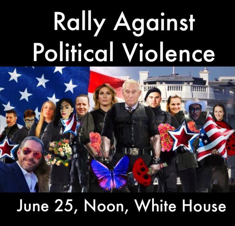 Rally Against Political Violence   This Sunday June 25th