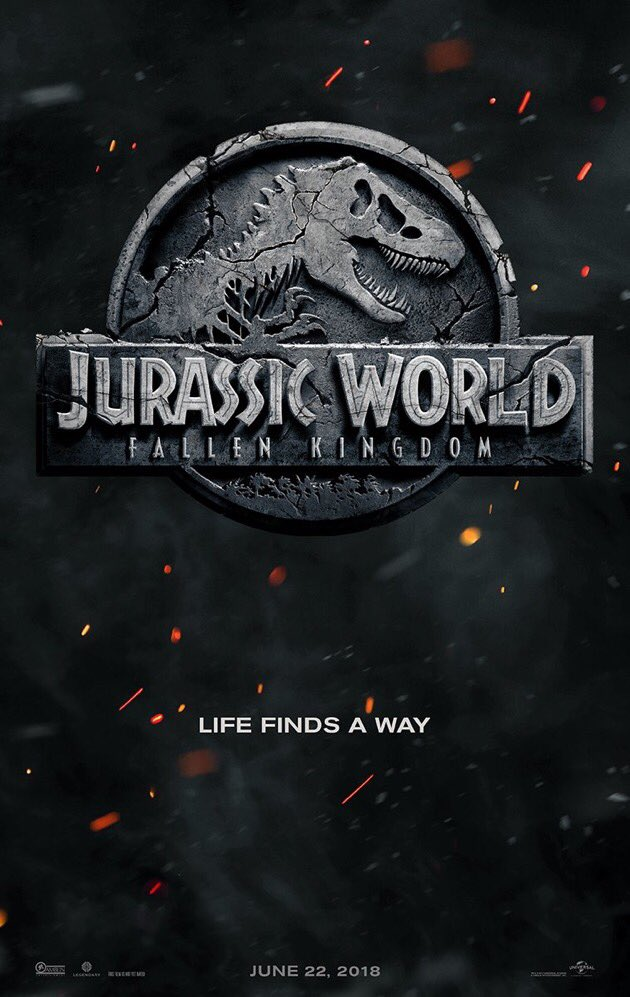 Jurassic World: Fallen Kingdom. #jurassicworld https://t.co/gu19BV5Gzz