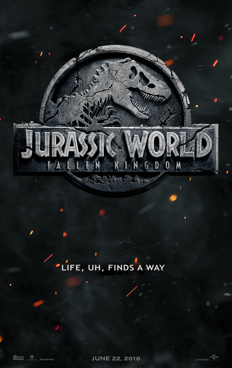 Fixed your poster. #JurassicWorldFallenKingdom