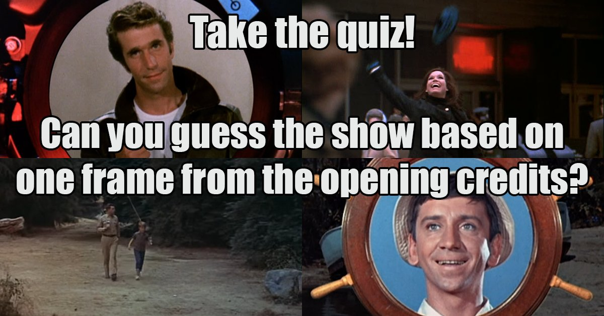 QUIZ: Can you guess these shows based on one frame from the opening cr...