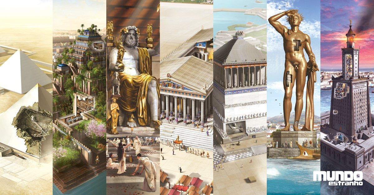 Como as sete Maravilhas da Antiguidade foram construídas: https://t.co/oGWYz6Qf96