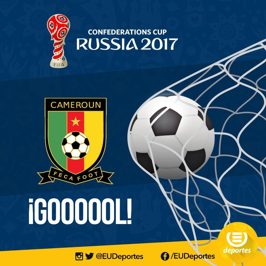 #CopaConfederaciones | 45'+1 ¡GOL DE CAMERÚN! anotación de Zambo Angui...