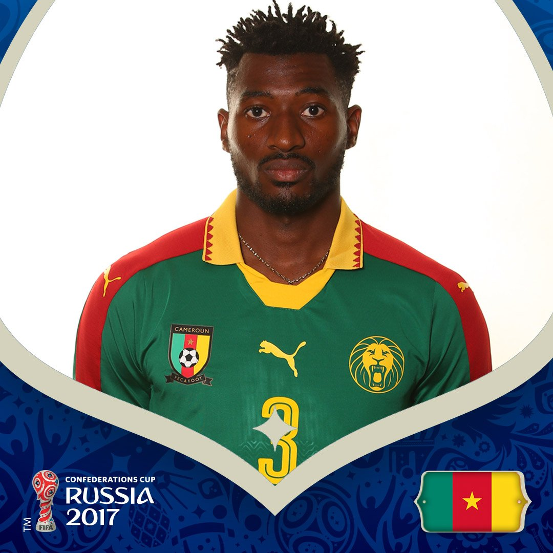 #ConfedCup | GOAL!  🇨🇲1-0🇦🇺 ⚽️Andre Zambo (45')  Follow: https://t.co/...
