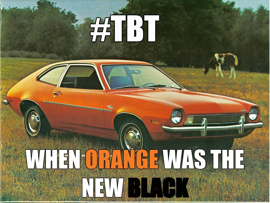 Speaking of Pintos, have you ever BEAN in one?   #TBT https://t.co/L88...