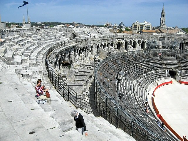 Gladiators in Paradise - Unforgettable Nimes  http://www. thepariseffect.net/blog/gladiator s-in-paradise &nbsp; …  #TheParisEffect #Nimes #France #occitanie #Romans #travel<br>http://pic.twitter.com/Z7qWpfztC8