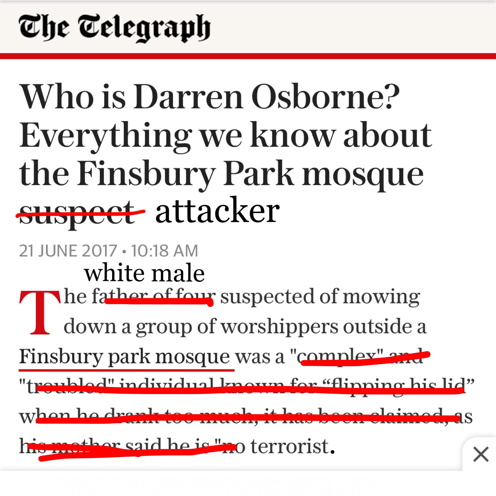 RT @MuslimIQ: Fixed that for you.  #FinsburyMosqueAttack https://t.co/CFgWRGfI0p