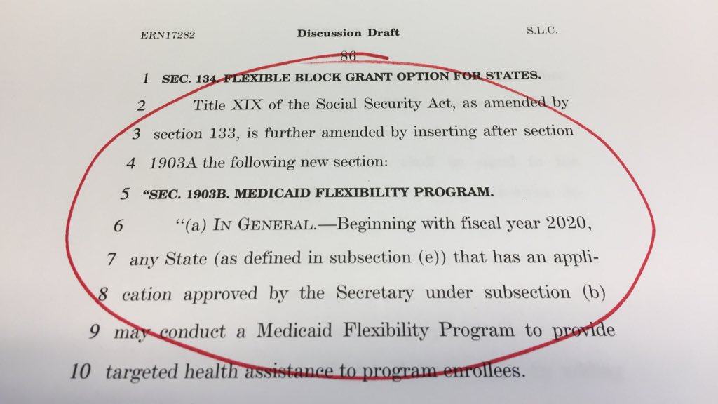 Page 86. Decimating Medicaid.