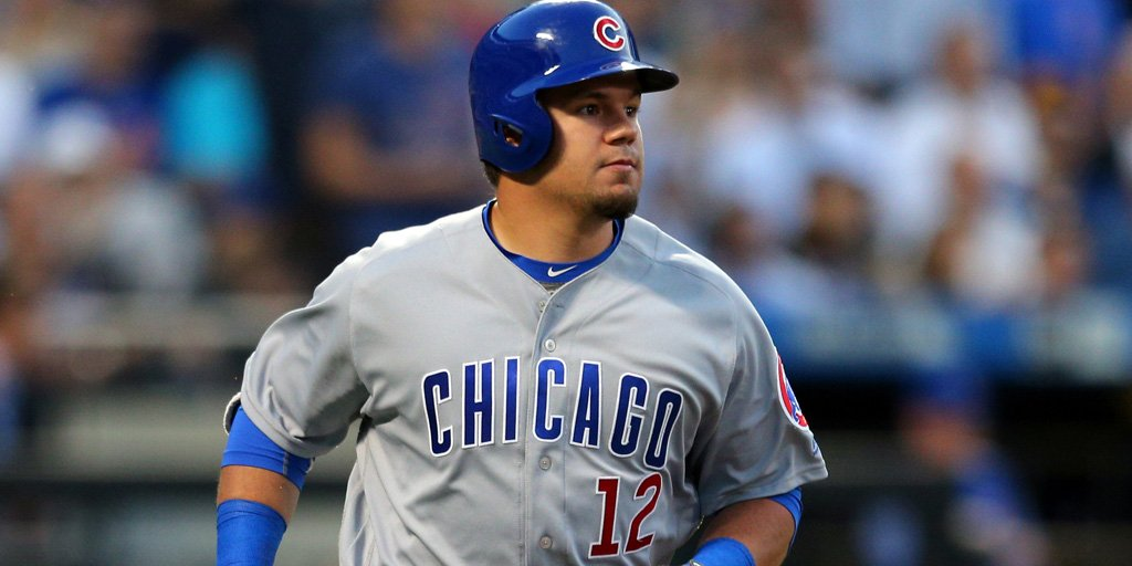 Report: Cubs demote Kyle Schwarber to Triple-A. https://t.co/ttyhrJUeh...