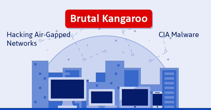 Brutal Kangaroo: #Wikileaks Unveils CIA-developed #Malware for #Hacking Air-Gapped Networks Covertly https://t.co/8rCGIYjukV #security