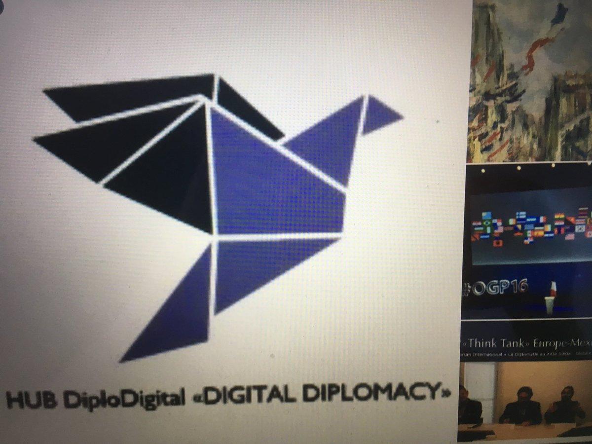 #ThinkTank @DiploDigital  From #Paris @MorganeBravo... #DigitalDiplomacy #Diplomatie #Diplomacia #UE #EU #PublicDiplomacy #Numérique<br>http://pic.twitter.com/kqbQFql2gZ