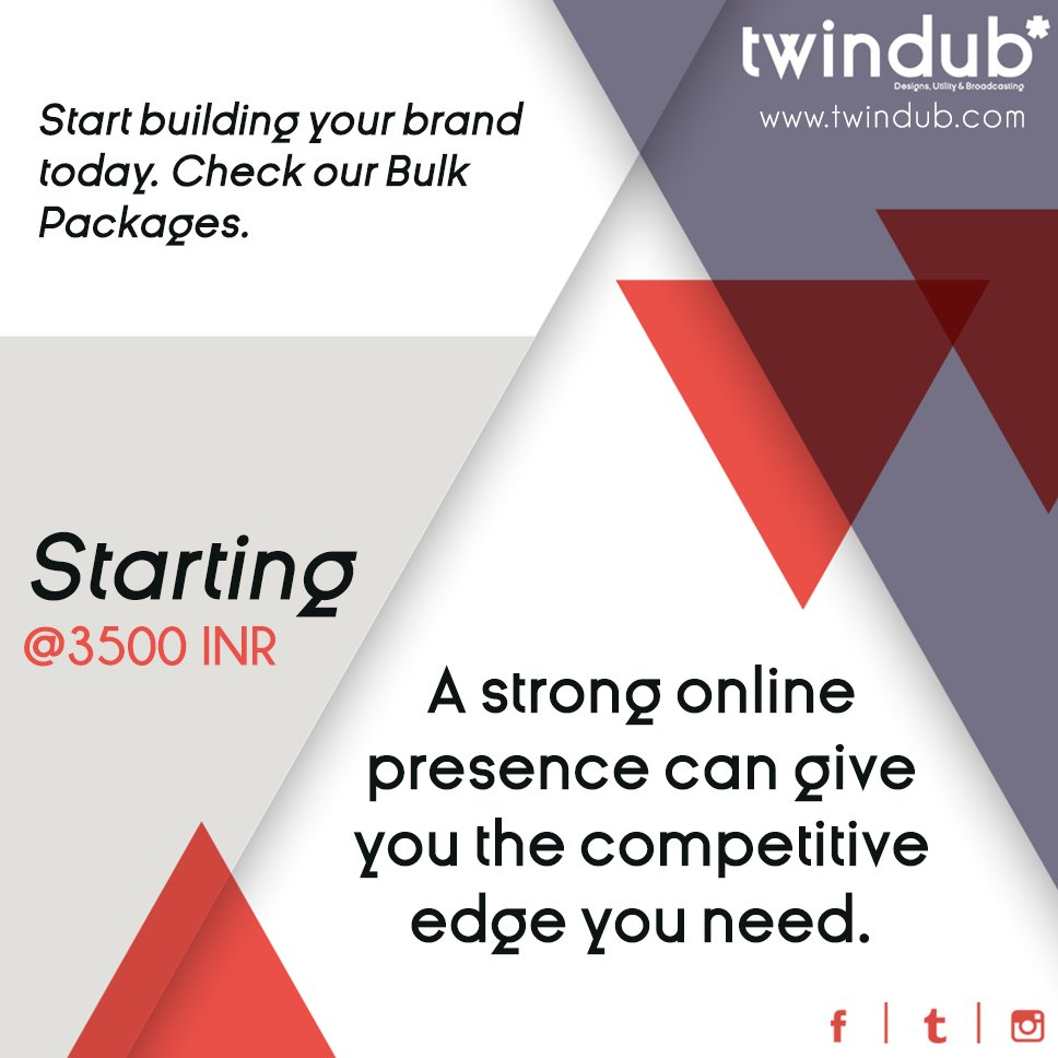 A #strong #onlinepresence can give you the competitive edge you need. #branding #socialmediabranding #twindub #socialmediamarketing<br>http://pic.twitter.com/Zi33oCc8cl
