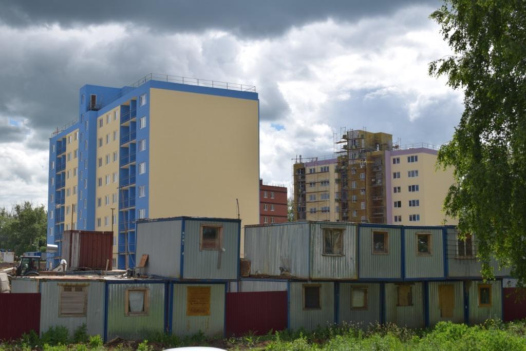 В Узловая-сити начался процесс теплоизоляции стен домов