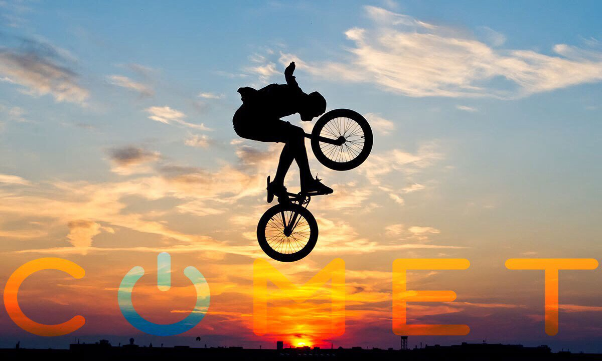 #BMXer, #Comet's #BrilliantPhonehas customized #LEDnotifications so u know who&#39;s texting even if u put your #Phone down 4 the next #Trick<br>http://pic.twitter.com/V52KAHjbok