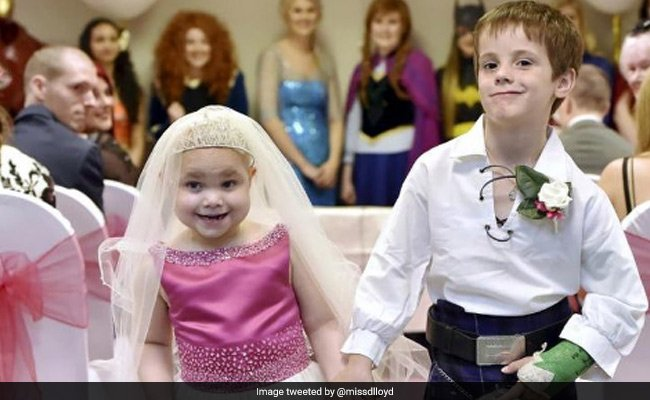 Terminally ill 5-year-old 'marries' best friend in fairy tale 'wedding' https://t.co/N8Ow6t4SmZ