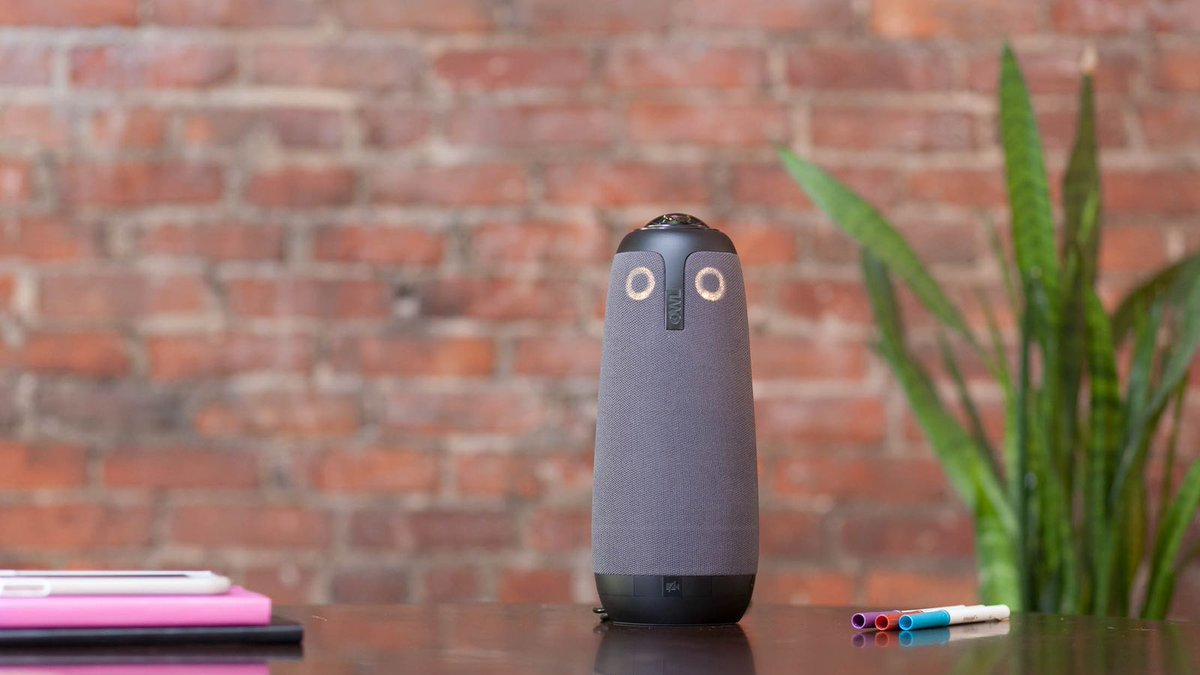 Andy Rubin-backed Owl Labs just launched a robotic video conference camera https://t.co/qKgrSeJKf2