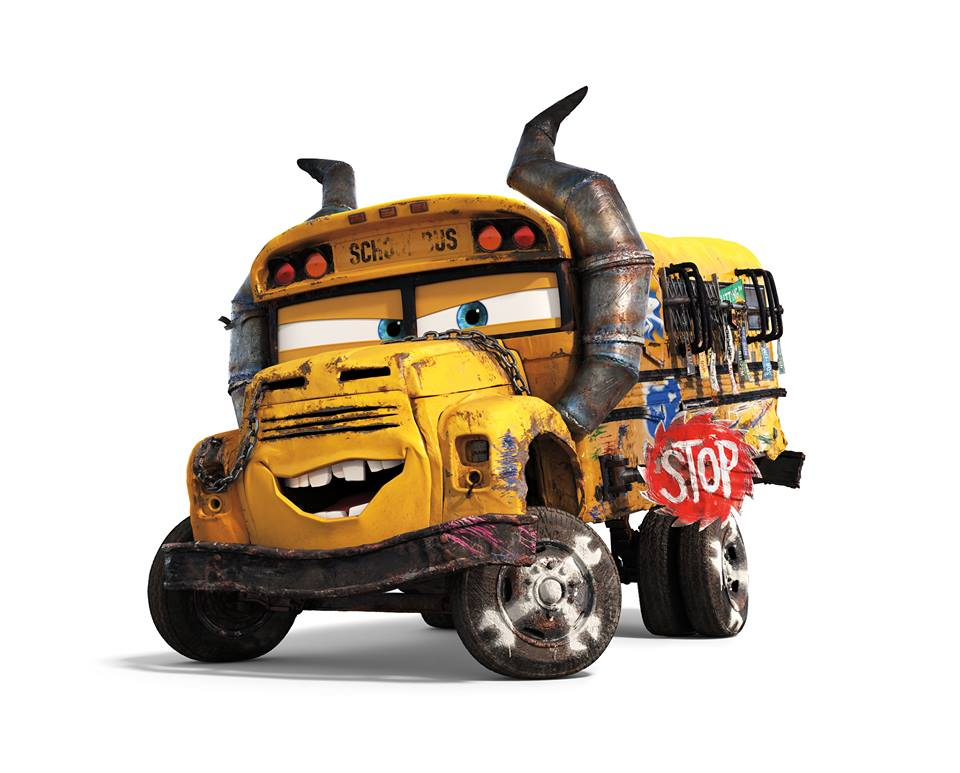 I LOVE @realleadelaria as the voice of Miss Fritter in @pixarcars 3 #Cars3  #Cars3Event #Disney #Disneyside #Disneyland #SummerofHeroes<br>http://pic.twitter.com/d3M2KN9rB6
