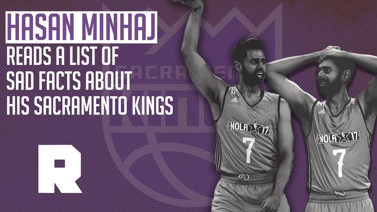 Hasan Minhaj is one loyal Kings fan. https://t.co/Ra9oAJORDc