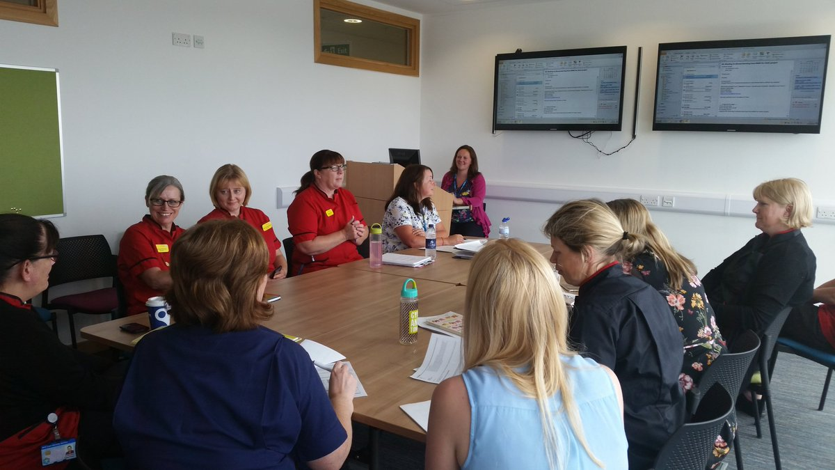 Matrons Forum sharing progress in reducing pressure injury @NorthBristolNHS, health coaching and body map systems #stopthepressure #quality <br>http://pic.twitter.com/vLJgiskxZF