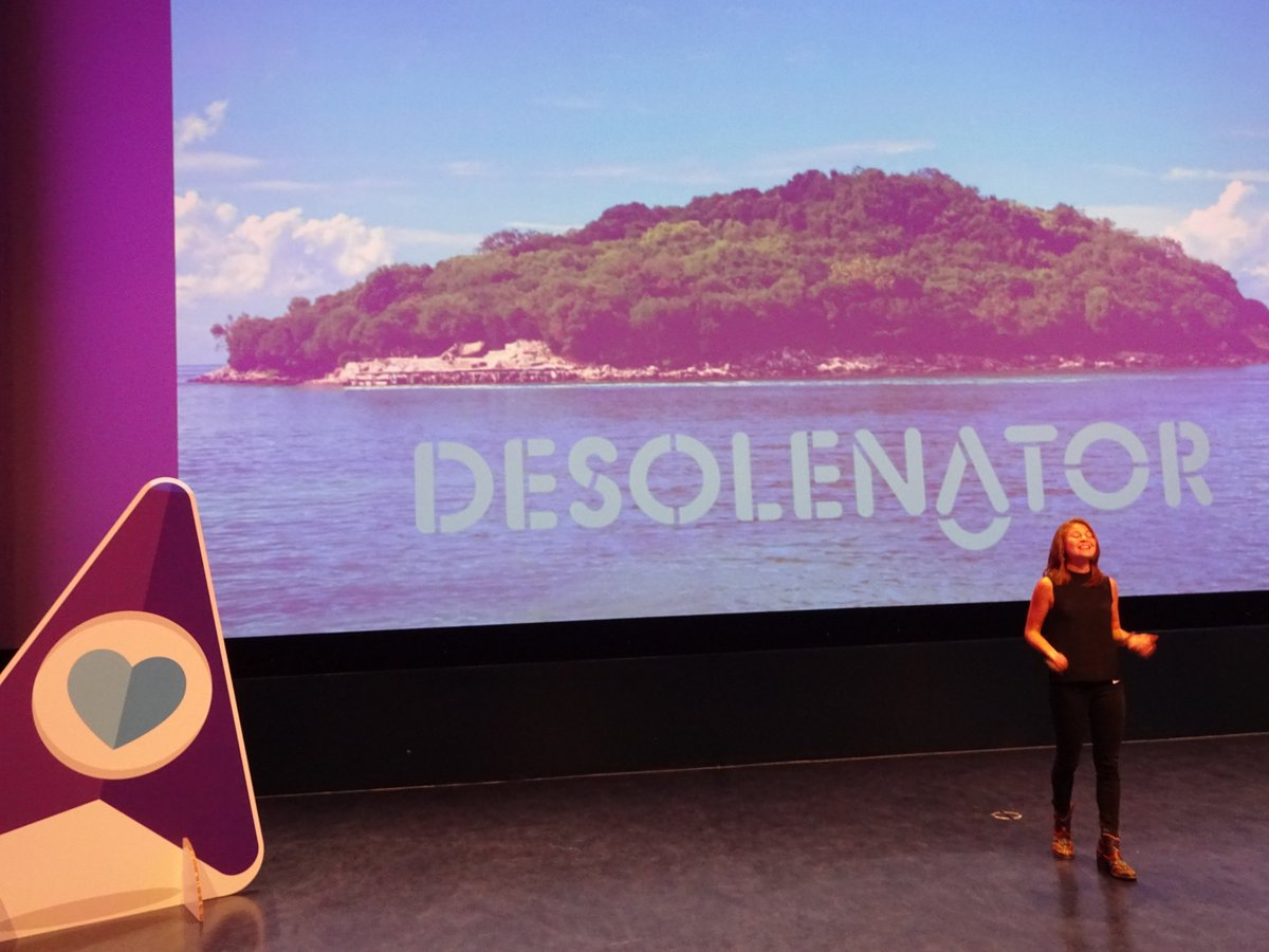 .@desolenator is the 4th #startup at the #BookingBooster final: &quot;For clean drinking water, all you need is sunshine &amp; the sea&quot; <br>http://pic.twitter.com/MQ7PpTeQOy