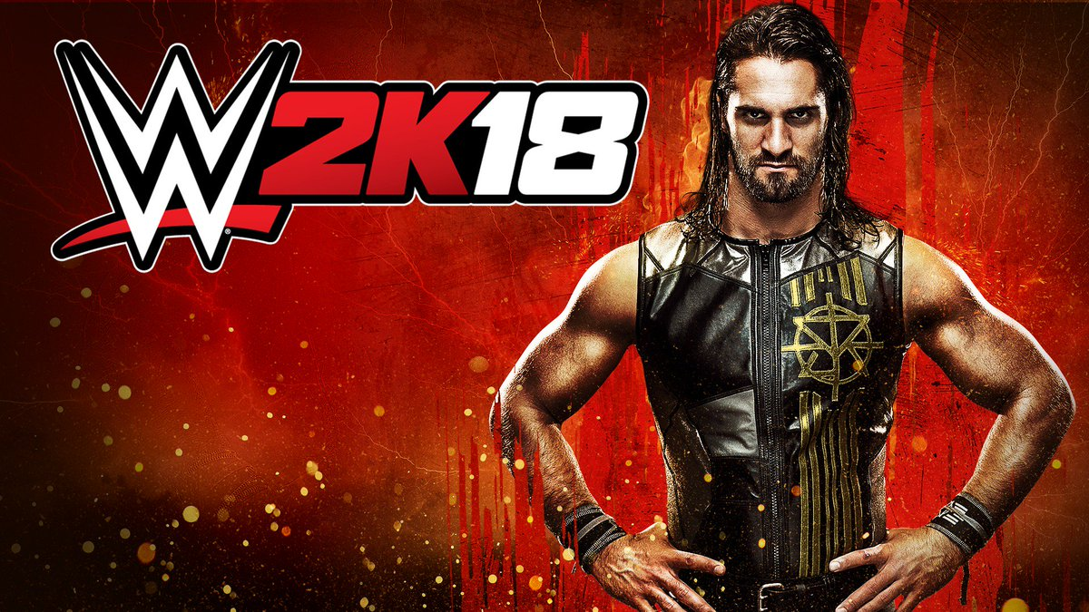 @WWEgames cover star: confirmed. Pre-order #WWE2K18 with @WWERollins t...