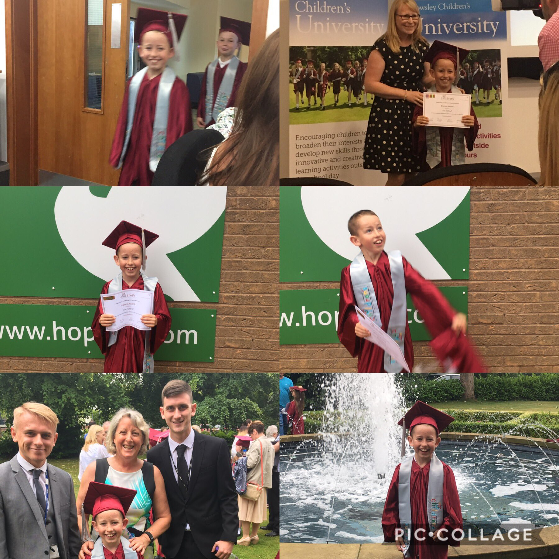 Well done to all the children @PrescotPrimary who graduated🎓at children's  university today👏🏼! Amazing teachers @PrescotCPSport thank you👏🏼 https://t.co/hYyOnPDYGr