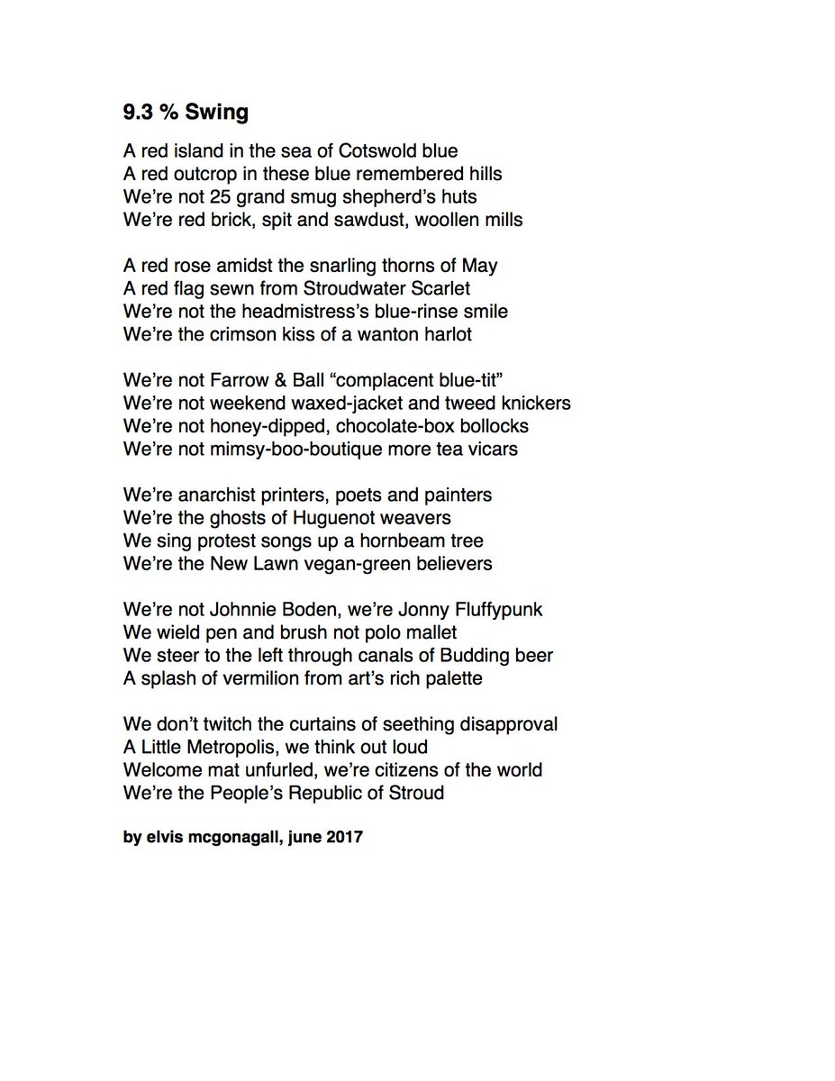 Elvis Mcgonagall On Twitter New Poem 9 3 Swing