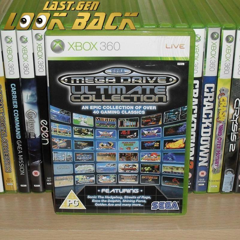LAST-GEN LOOK BACK:  NAME: MEGA DRIVE COLLECTION  DEVELOPER: BACKBONE  FORMAT: 360  RELEASED: 2009  #Xbox #Xbox360 #sega #megadrive #gaming<br>http://pic.twitter.com/vgLJWh1L2h