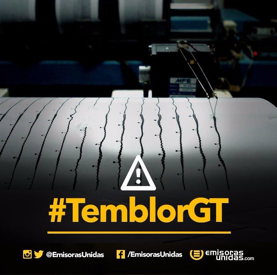 #TemblorGT de este jueves fue más fuerte que el de la semana pasada, i...