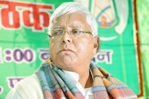 I would appeal to Nitish Kumar to rethink his decison. Won't break alliance: Lalu Prasad Yadav on presidential nominees (ANI)
