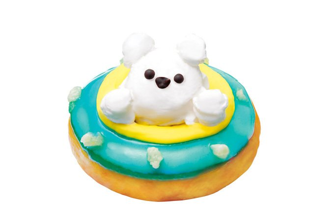 """クリスピー・クリームから""""海に浮かぶシロクマ""""イメージのドーナツ、名古屋高島屋限定発売 - https://t.co/1OmSDuwsPS"""