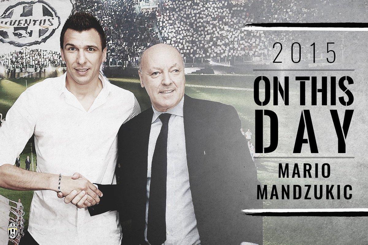 #OnThisDay, 2️⃣0️⃣1️⃣5️⃣: @MarioMandzukic9 diventa ufficialmente bianc...