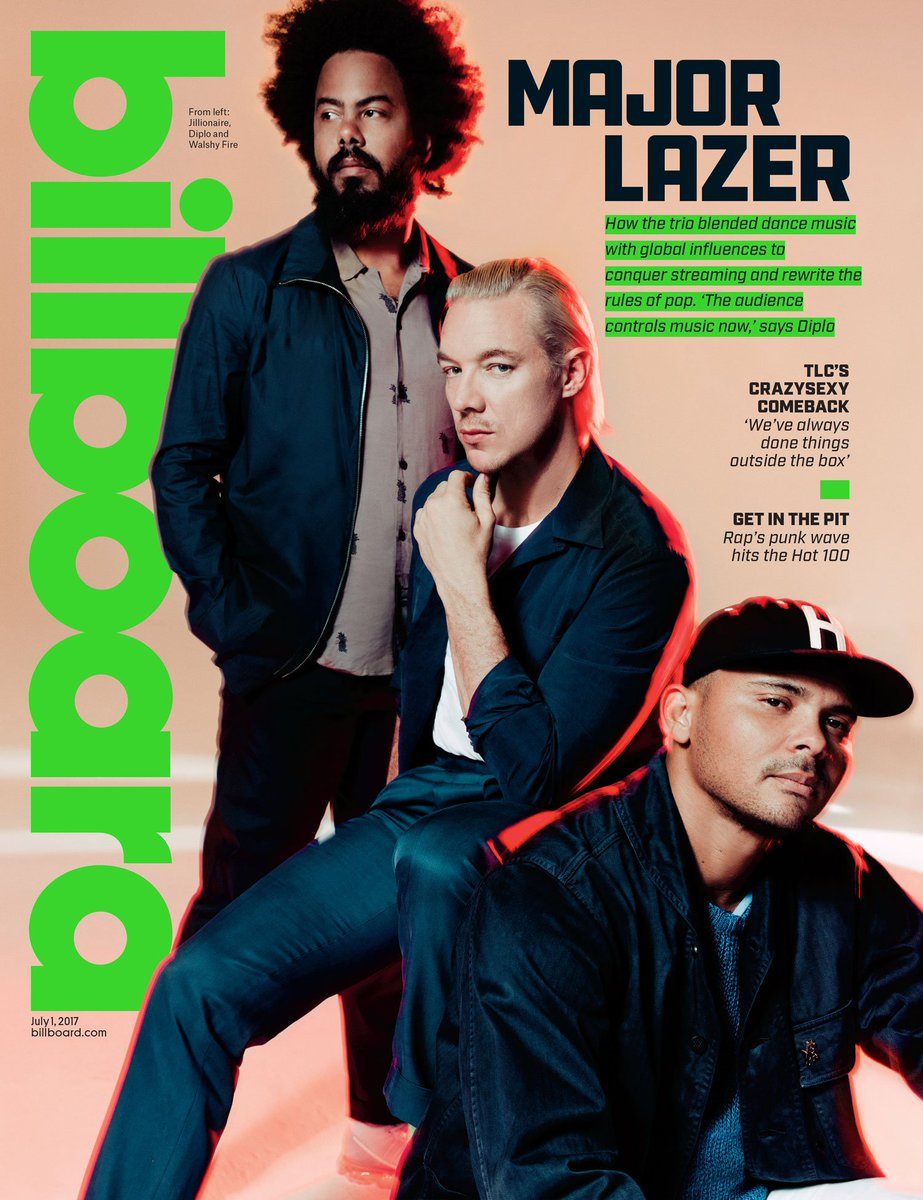 How @MajorLazer bet on diversity (and data) to make global hits #MajorLazerOnBillboard