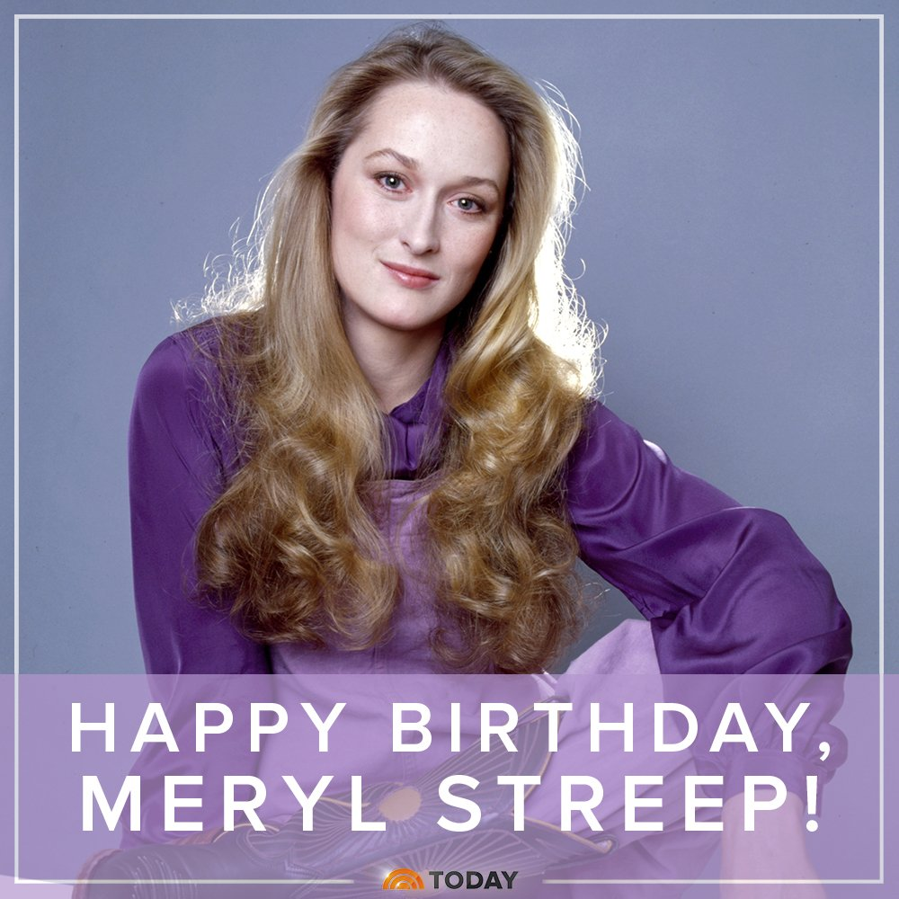 Happy 68th birthday to the woman who proves that age is just a number, #MerylStreep! <br>http://pic.twitter.com/R1uAeR4jRh