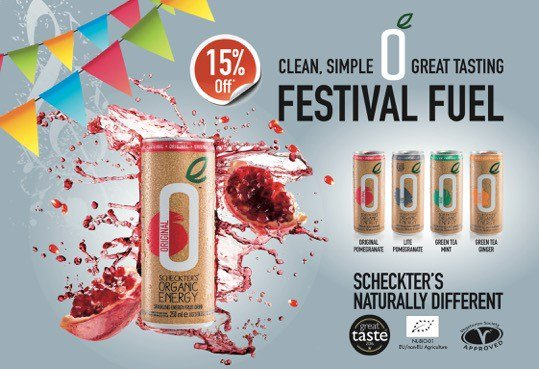 15% off Clean, Simple & Great Tasting Festival Fuel from Scheckter's. @ScheckterEnergy https://t.co/cl37O5lz3j