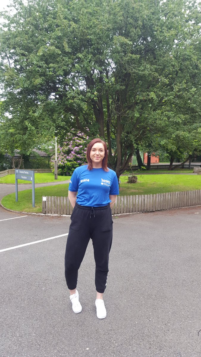 Nicole loving her placement @maidencityFC @StCeciliasDerry @StCecilias_PE #football #coaching #sports #careers<br>http://pic.twitter.com/sW70jr17ij